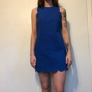 Blue J. Crew Dress Size 00 (Could fit up to sz 4)